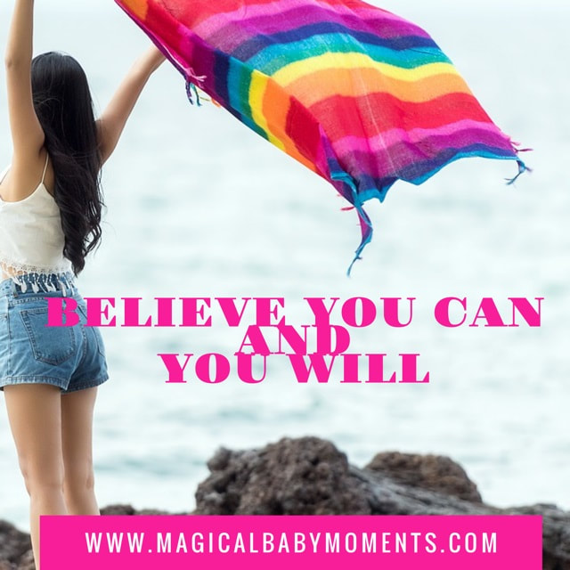 Hypnobirthing Affirmation - Believe you can and you will
