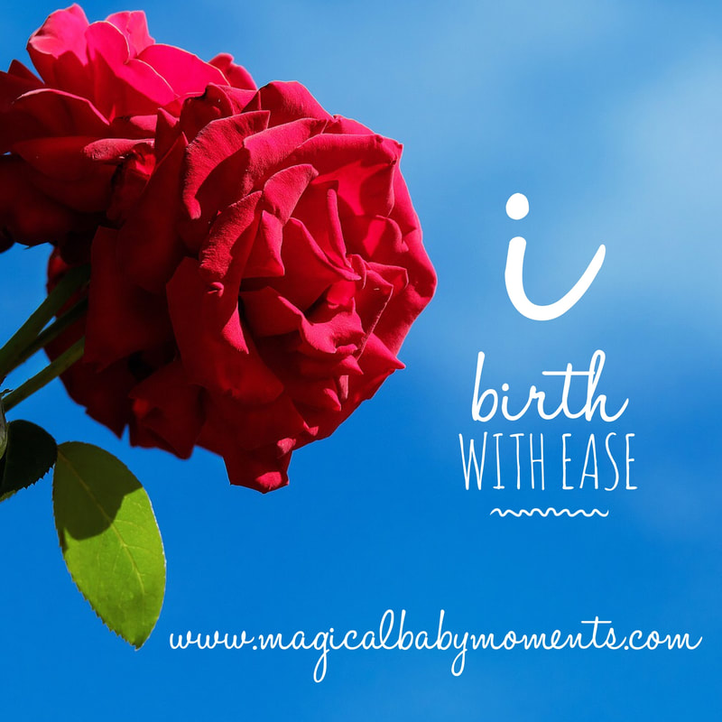 Hypnobirthing Affirmation: I birth with ease