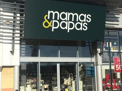 MBM Mamas and Papas Hypnobirthing Classes in Thurrock Store front at Lakeside